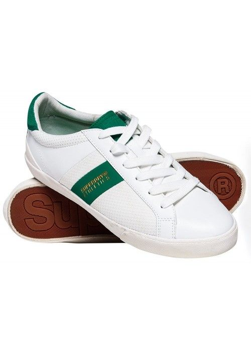 Superdry Vintage court trainer