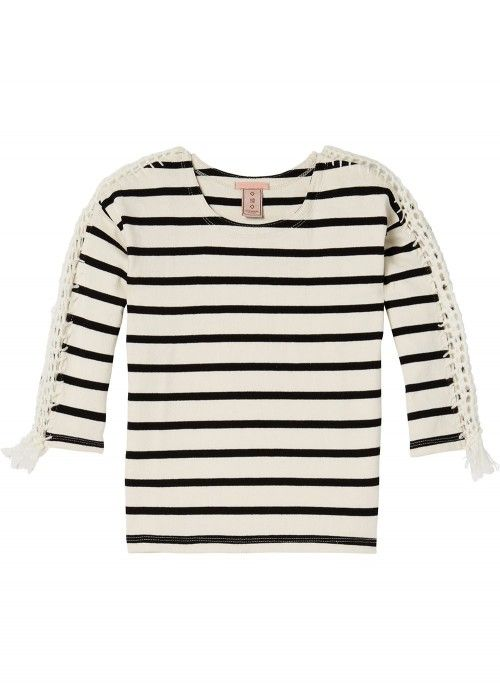 Scotch R'belle Classic Striped Sweat Tee