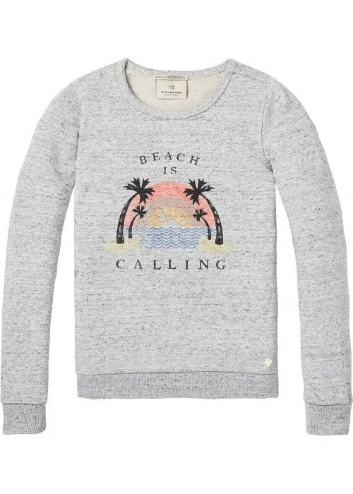 Scotch R'belle Crewneck Sweat With Artworks