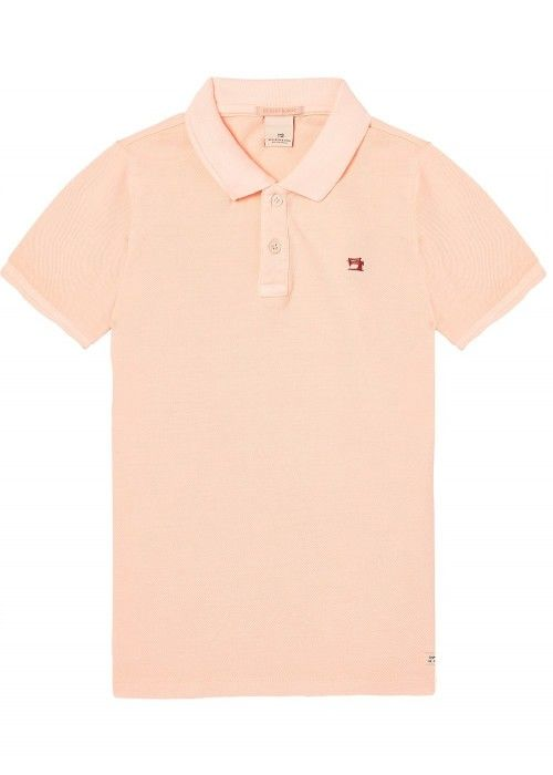 Scotch Shrunk Garment dyed polo