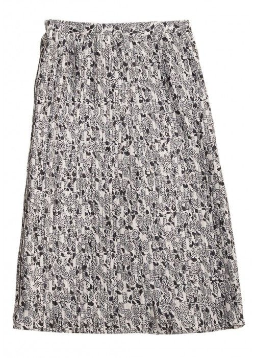 Penn & Ink Skirt AOP