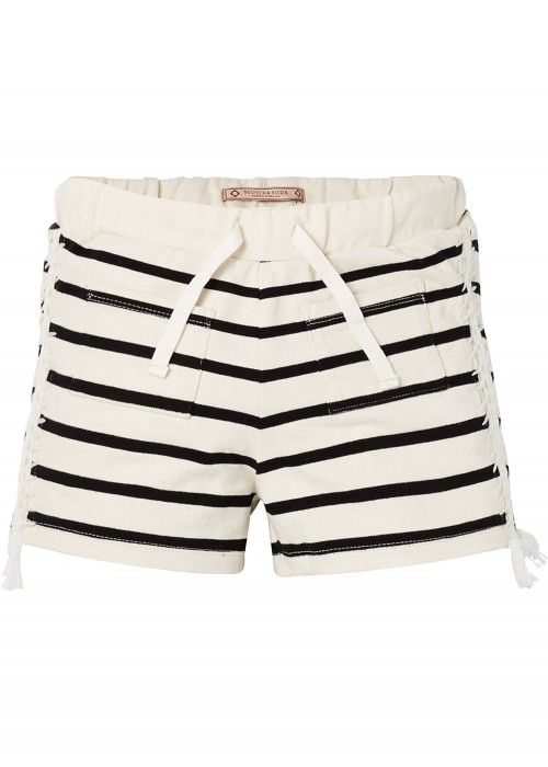Scotch R'belle Classic Striped Sweat Shorts