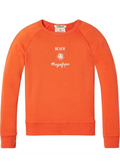 Scotch R'belle Super Soft Crewneck Sweat Artw