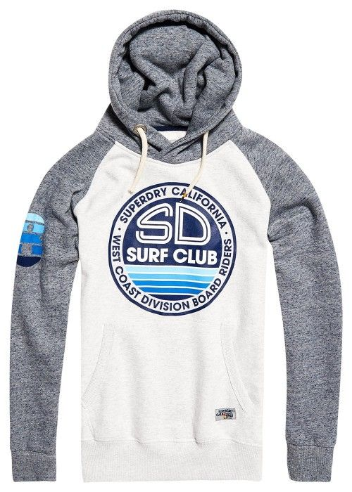 Superdry SD surf club raglan hood