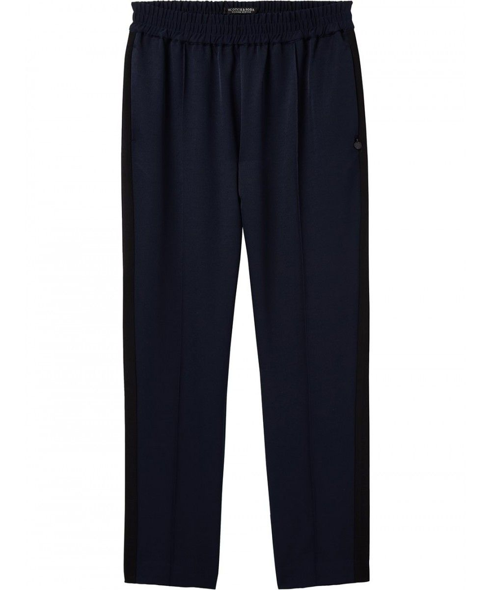 Maison Scotch Tapered leg pants with contras