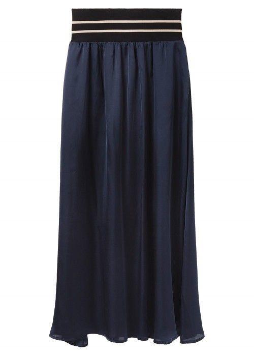 Maison Scotch Maxi skirt with wide elastic
