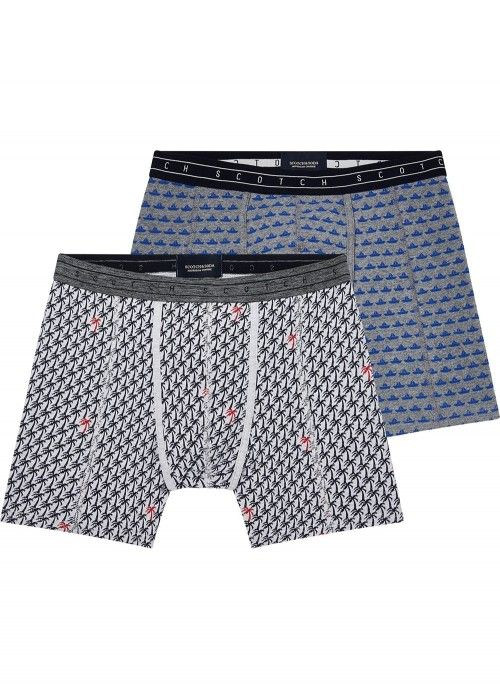 Scotch & Soda Allover print boxer short on g