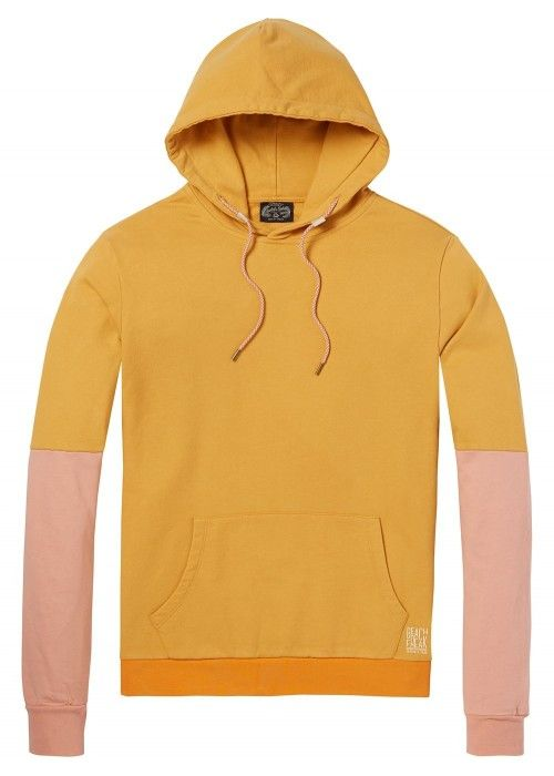 Scotch & Soda Summer colour-block hoodie