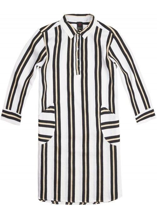 Penn & Ink Blouse Stripe