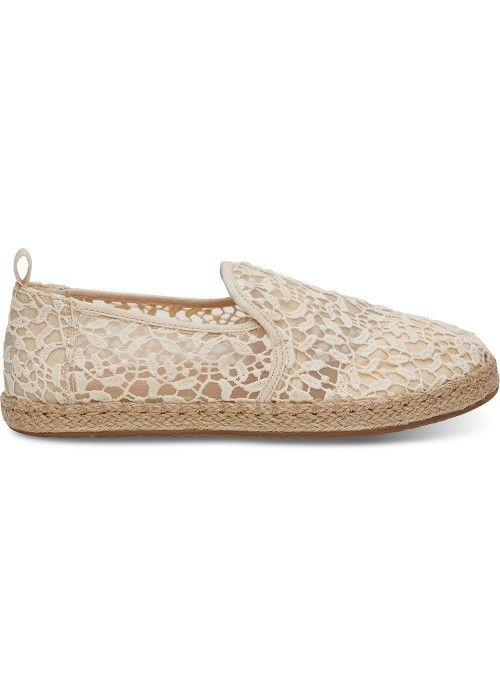 TOMS Shoes Deconstructed Alpargata rope