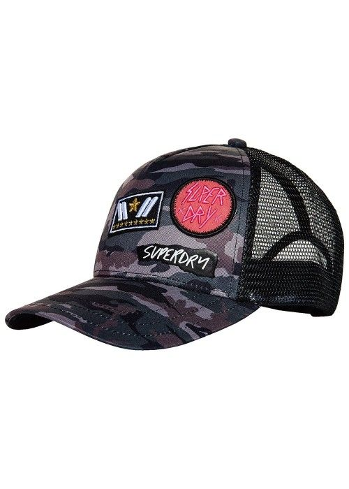 Superdry Camo Trucker cap