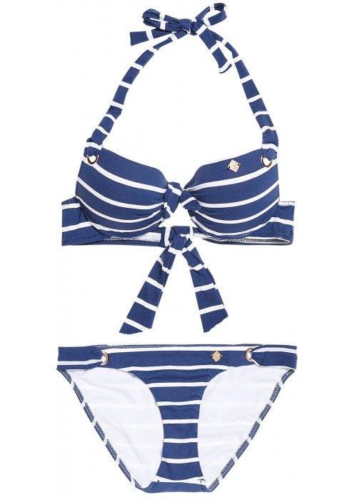 Superdry Picot textured bikini