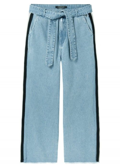 Maison Scotch Cropped wide leg pants with