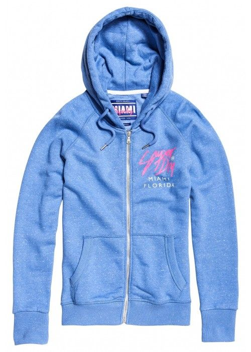 Superdry Beach sweat zip hood