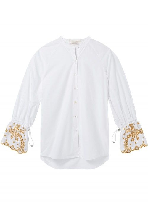 Maison Scotch Oversized fit button up shirt