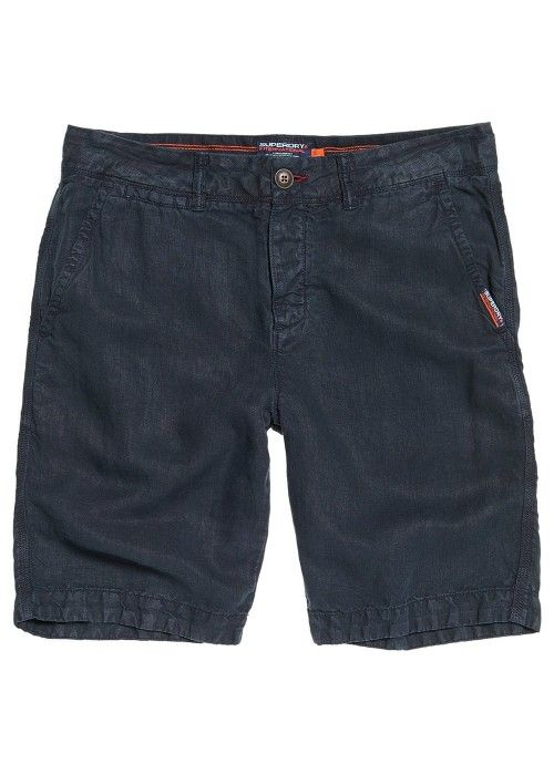 Superdry International linen chino shor
