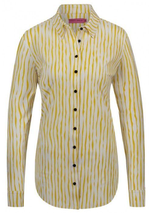StudioAnneloes Poppy stripe blouse