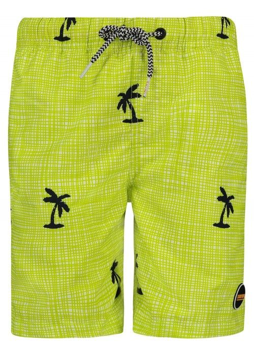 SHIWI Swim short modern check palm