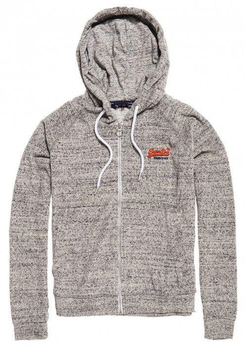 Superdry Beach terry ziphood