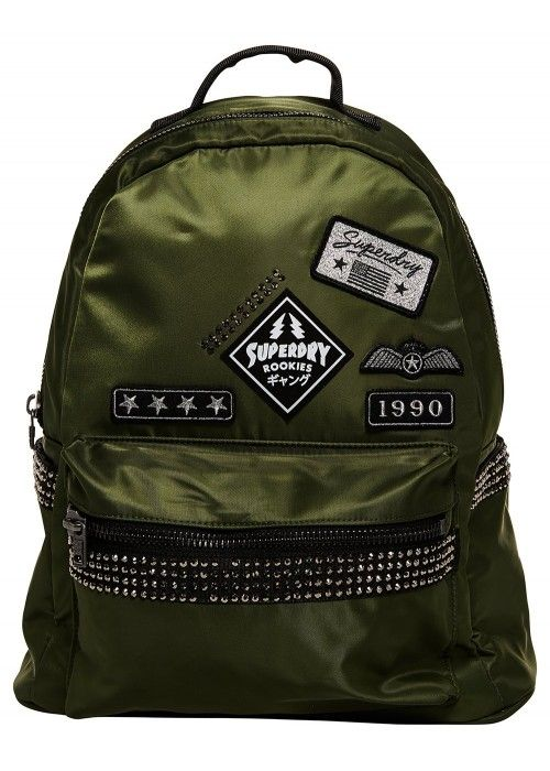 Superdry Midi Patched backpack