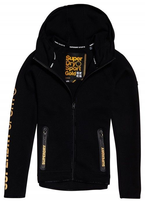 Superdry Gymtech gold award ziphood