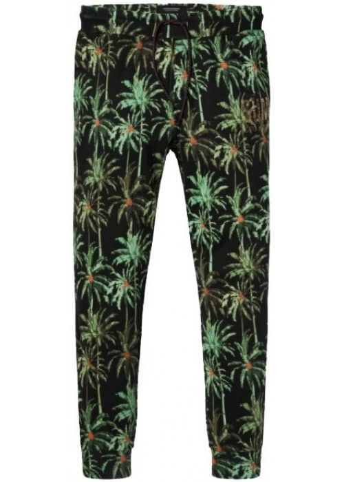 Scotch & Soda Sweat pant with all-over palm