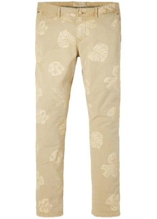 Scotch & Soda Garment dyed chino with allove