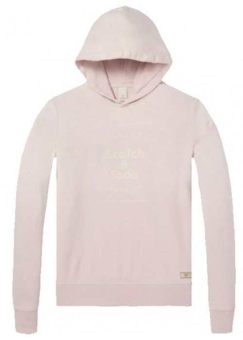 Scotch & Soda Classic hoody with chest