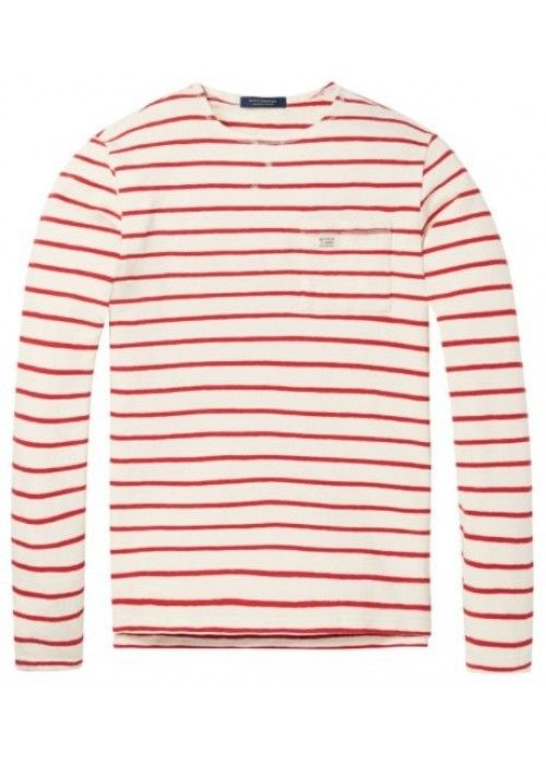 Scotch & Soda Longsleeve striped sweat