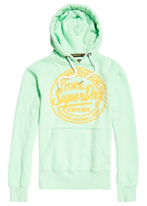 Superdry World wide ticket type hood