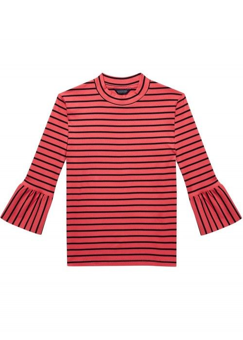 Maison Scotch Clean long sleeve tee with
