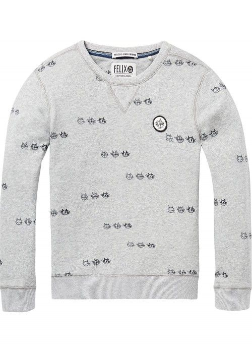 Scotch Shrunk Felix AMS Crew Neck Sweat
