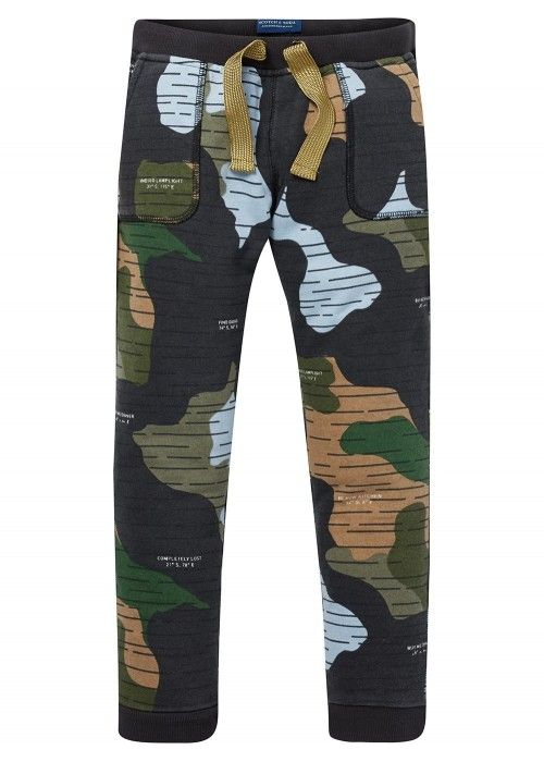 Scotch Shrunk Allover printed sweatpant