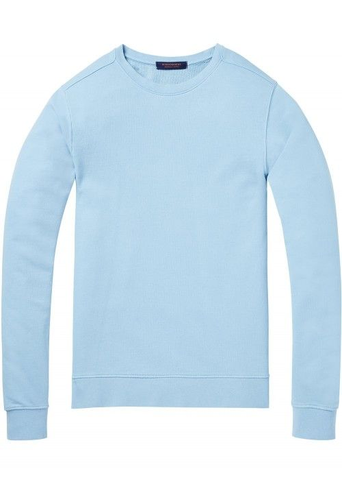 Scotch & Soda Classic crewneck sweat with ru