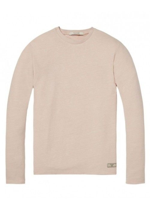 Scotch & Soda Crewneck sweat with raw edge