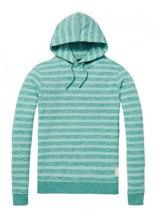 Scotch & Soda Hoodie in multicolour melange