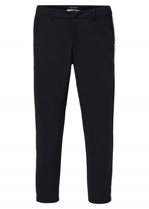 Maison Scotch Tailored stretch pants with a