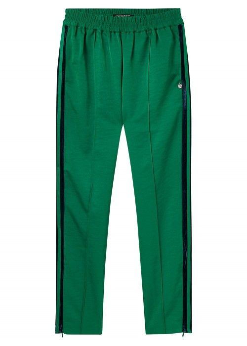 Maison Scotch Tailored pants with velvet sid