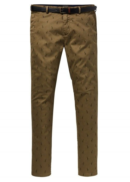 Scotch & Soda Mott - Classic chino with clea