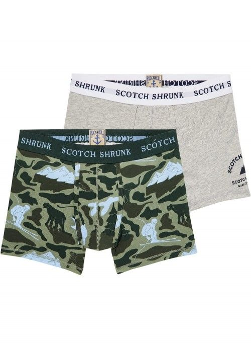 Scotch Shrunk Boxer short in duo pack