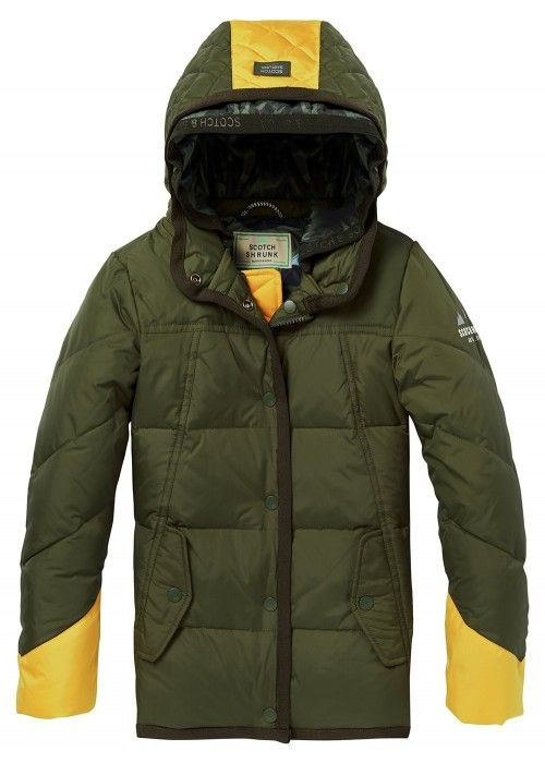 Scotch Shrunk Quilted puffer jacket