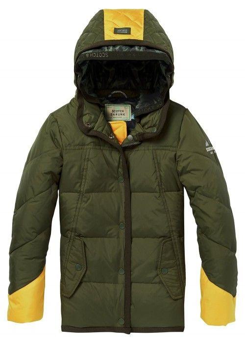 Scotch Shrunk Quilted puffer jacket