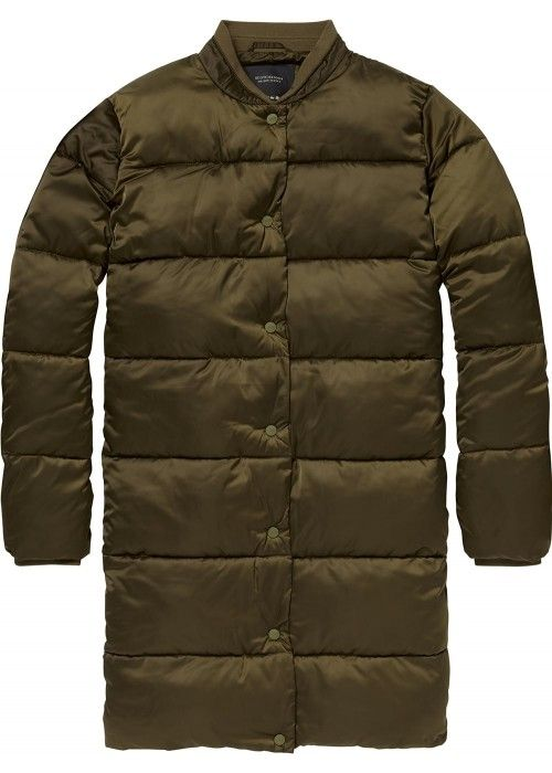 Maison Scotch Longer length down jacket