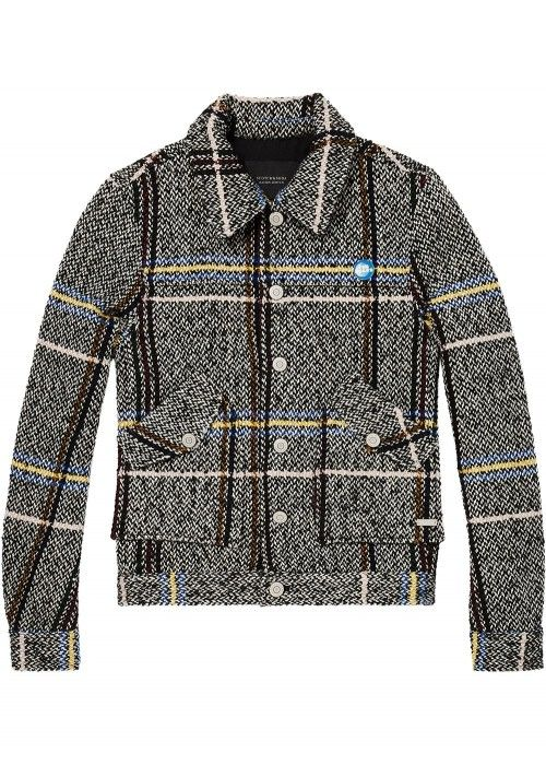 Maison Scotch Short wool blend worker jacket