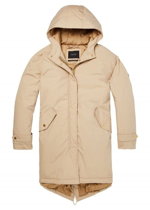 Maison Scotch Oversized technical parka