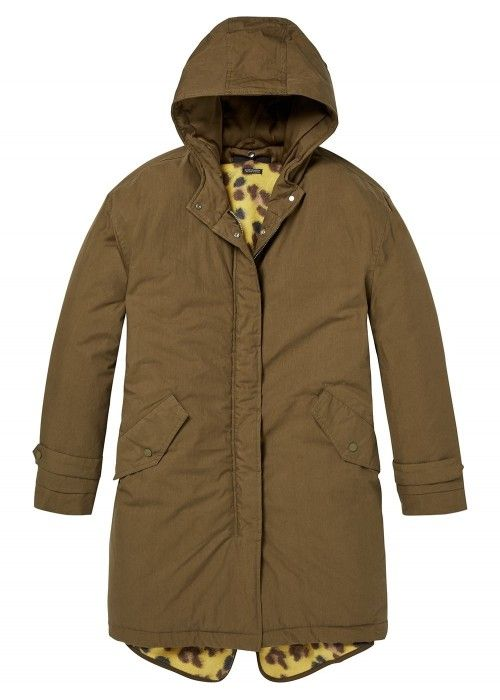 Maison Scotch Technical parka with removable