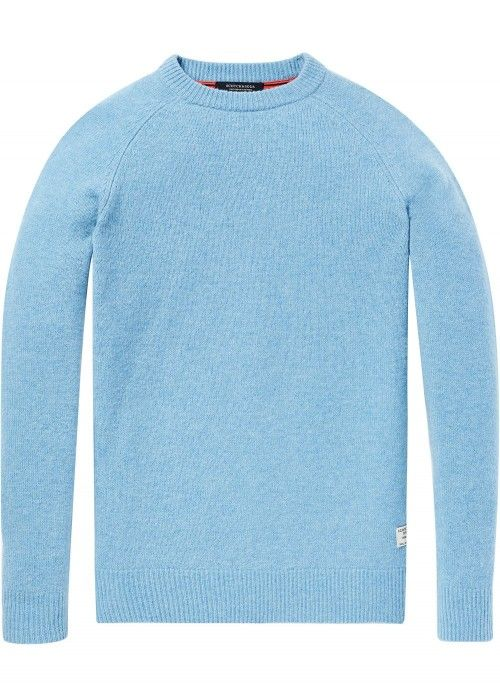 Scotch & Soda Chunky pullover in melange