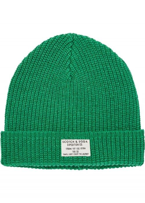 Scotch & Soda Classic beanie in structured