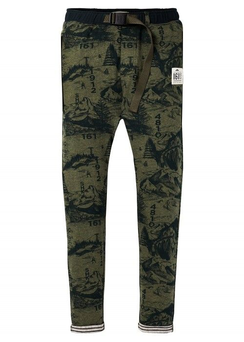 Scotch Shrunk Allover printed sweatpant with