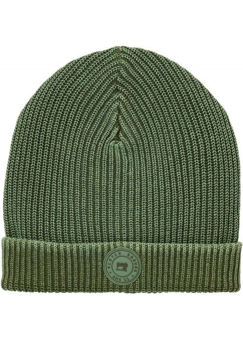 Scotch Shrunk Rib knit beanie with washing